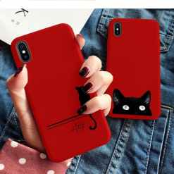 Black Cat iPhone Cover Cases at The great Cat Store