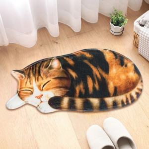 3D Printed Sleeping Cat Door Mat