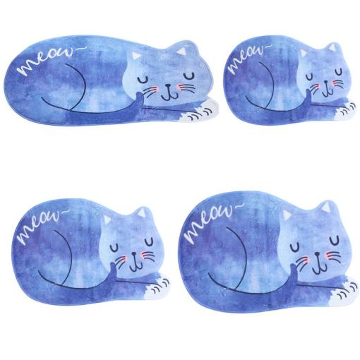 cat shaped door mats at The Great Cat Store