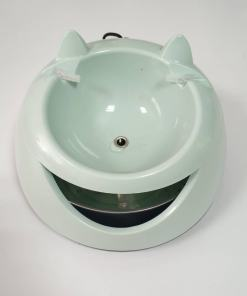 cat drinking fountain at The Great cat Store