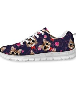 Casual Cat Design Women's Sneaker Tennis Shoe