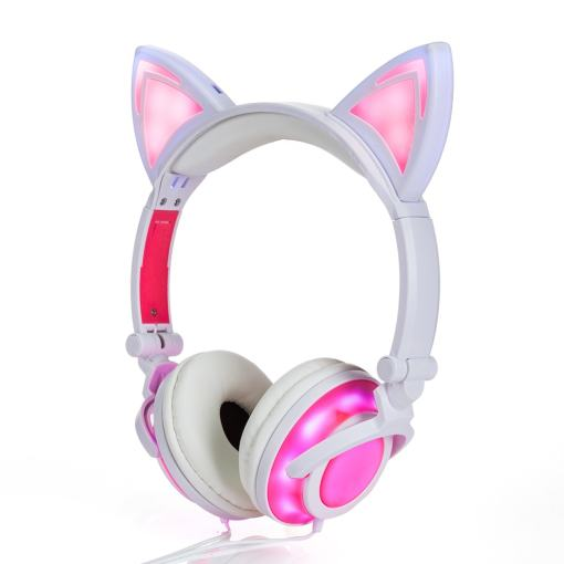 Glowing Cat Ear Headphones