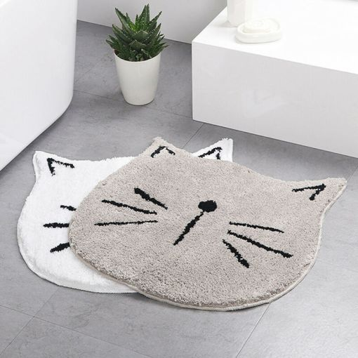 Cat Face Shaped Rug at The Great Cat Store