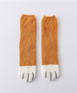Cozy Warm Cat Themed Socks