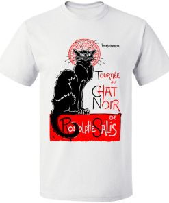 Theopile Steinlen Le Chat Noir T-Shirt