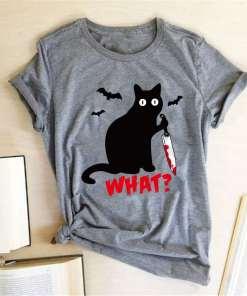 Murderous Black Cat T-Shirt