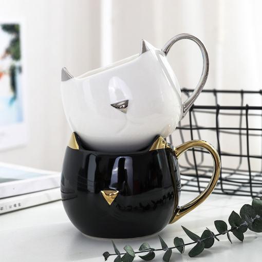 Sophisticated Cat Coffee Mug
