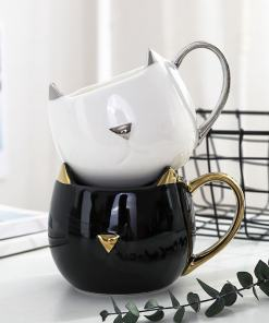 Sophisticated Cat Coffee Mug