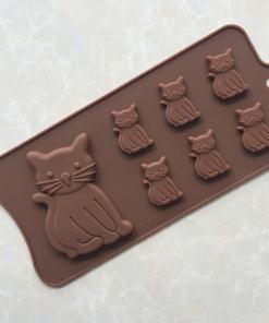 cat shaped mold