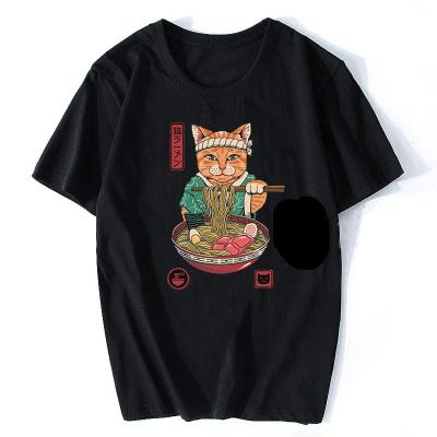 Neko Cat Anime Unisex T-Shirts