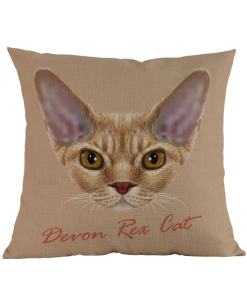 Devon Rex Cushion Cover