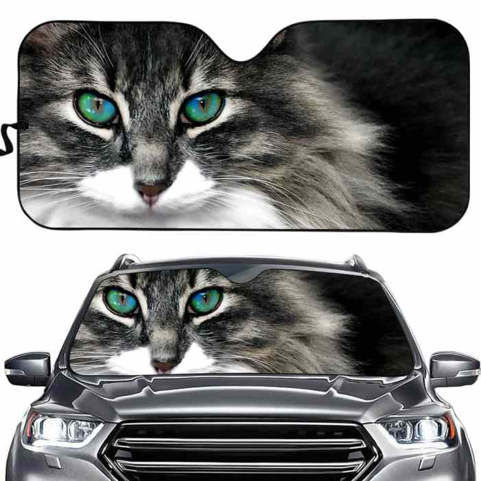 Cat Design Car Sun Shade Windshield Heat Reflector
