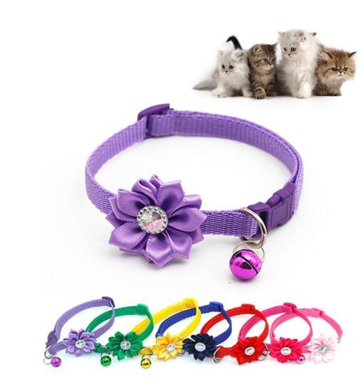 Cat Flower Collar