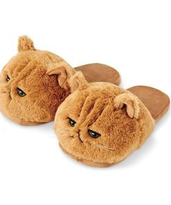 Cute Cat Face Slippers