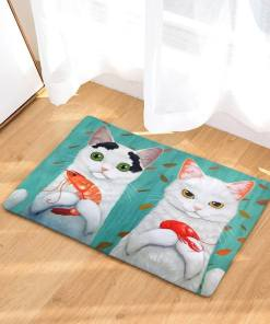 Decorative Cat Floor Mats