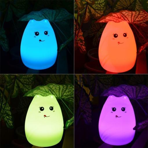 7 Colors 3D Night Light Table Lamp