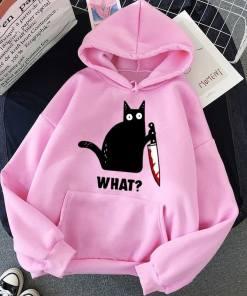 Killer Cat Hoodie Sweatshirt