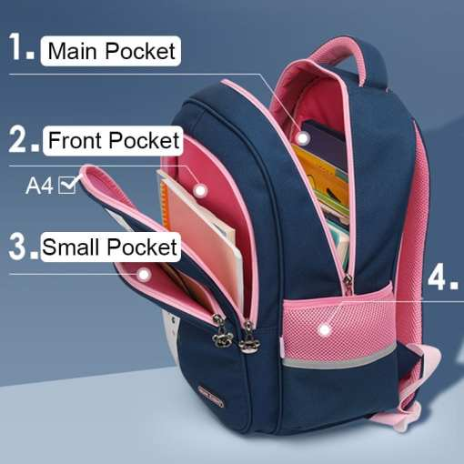 Cat Themed Backpack School Bag
