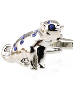 Men's Cat Shaped Cuff Links