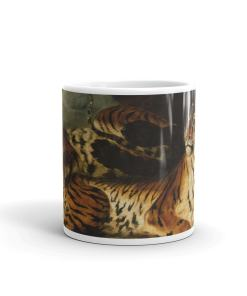 Young Tigers Art Mug