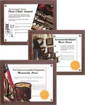Instrumentalist Certificates