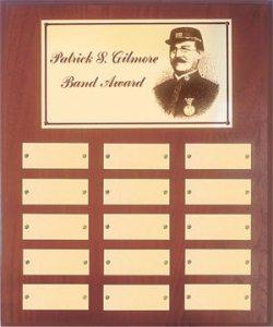 Gilmore Wall Plaque