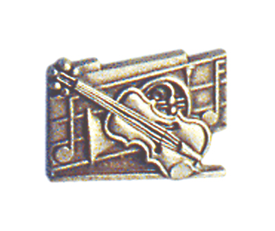 National School Orchestra Pin