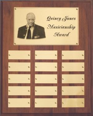 Quincy Jones Wall Plaque