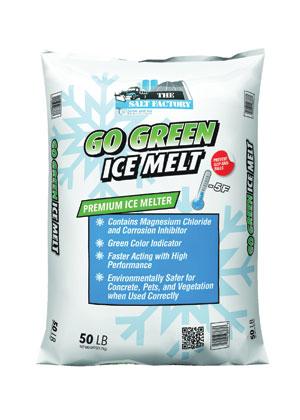 50 pound bag of go green ice melt