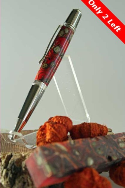"""Free Shipping """"An Homage to Autum"""" Handcrafted  Pen"""