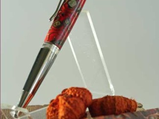 "Free Shipping ""An Homage to Autum"" Handcrafted  Pen"