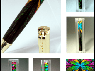 Stained Glass Pen Blanks