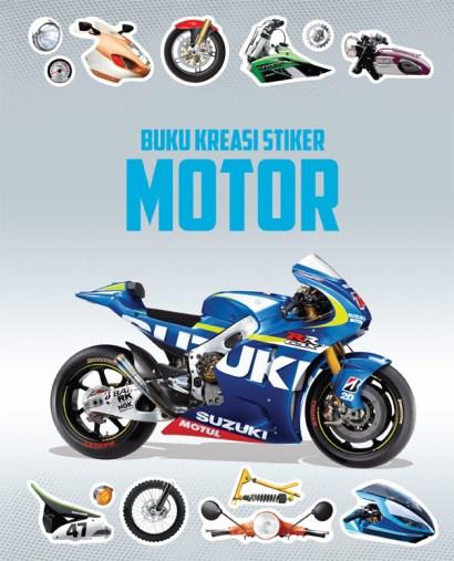 Buku Kreasi Stiker: Motor