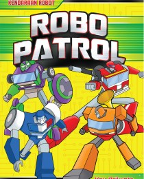 Aktivitas Berstiker Kendaraan Robot: Robo Patrol