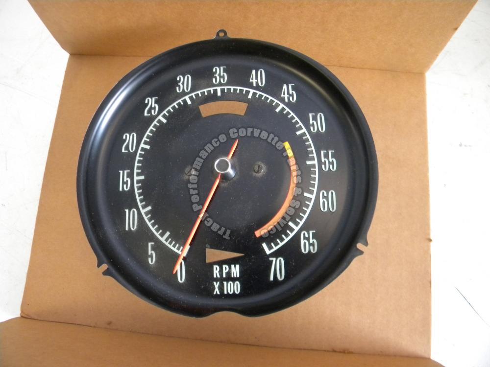 1968 Corvette NOS 6468710 5300 Red Line Tachometer 327