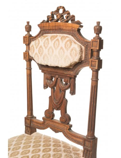 chaise ancienne style louis lxvi