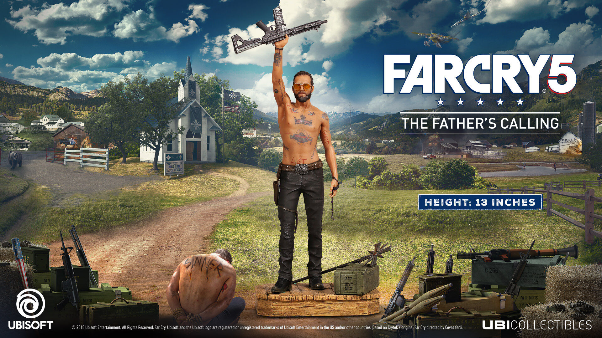 Far Cry 5   Joseph Figurine   The Father s Calling   Ubisoft Store Far Cry 5   Joseph Figurine   The Father s Calling    large