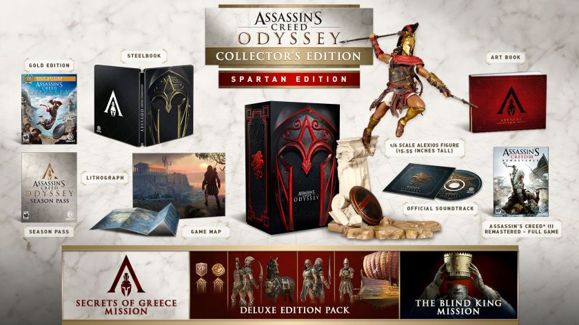 Assassin's Creed Odyssey Spartan Collector Edition, , large