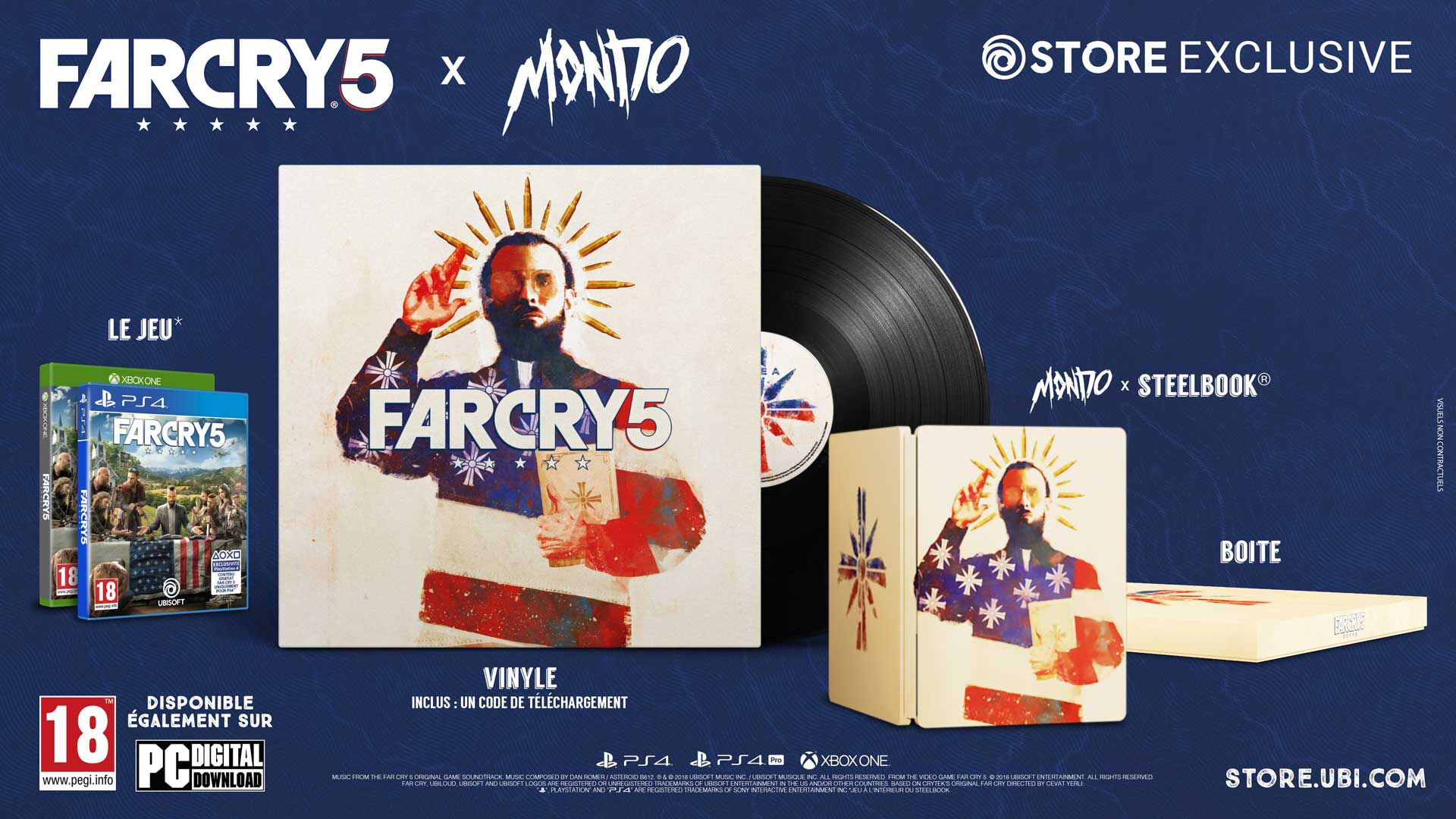 Far Cry 5 Collector Mondo