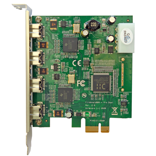 Fireboard800-e Pro Dual Channel 1394b PCI-e adapter