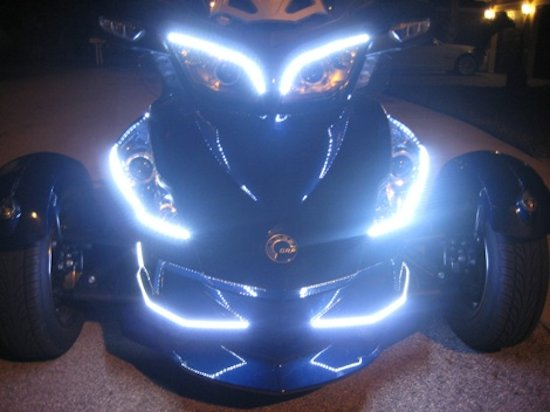 Motorcycle Led Accent Lights Installation