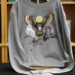 Long Sleeve Owls T-Shirt