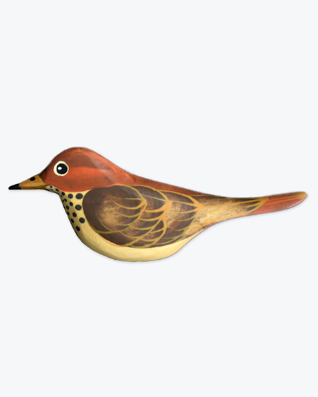 Hermit Thrush Ornament