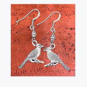 C2H-Cardinal-Earrings