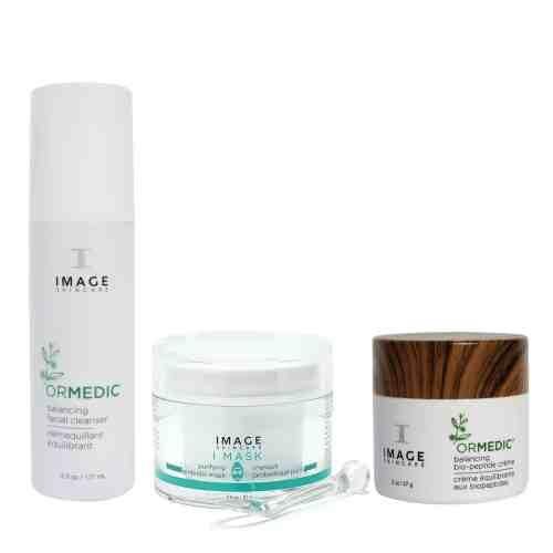Image Skincare Go Green At Home Facial Kit