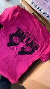Twins Pink T