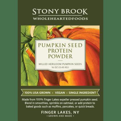 Stony Brook Pumpkin Protein Powder
