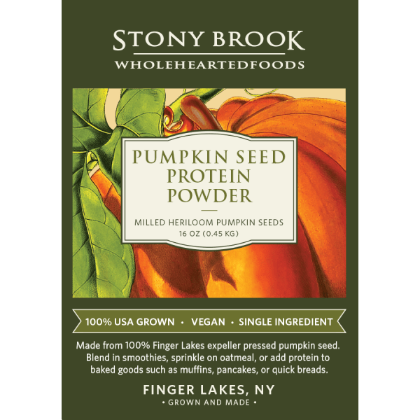 Stony Brook Pumpkin Protein Powder