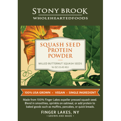 Stony Brook Squash Protein Powder