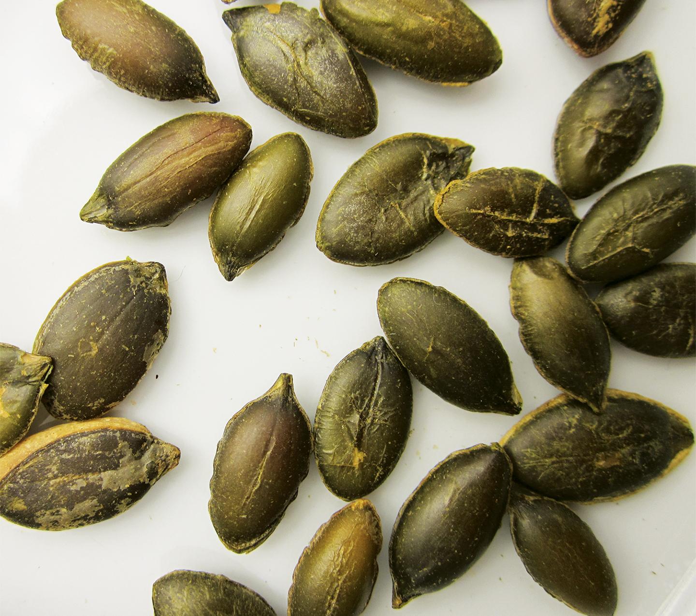 raw pumpkin seeds austrian varietal ny grown 1 lb stony brook